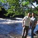 By the river in llangollen